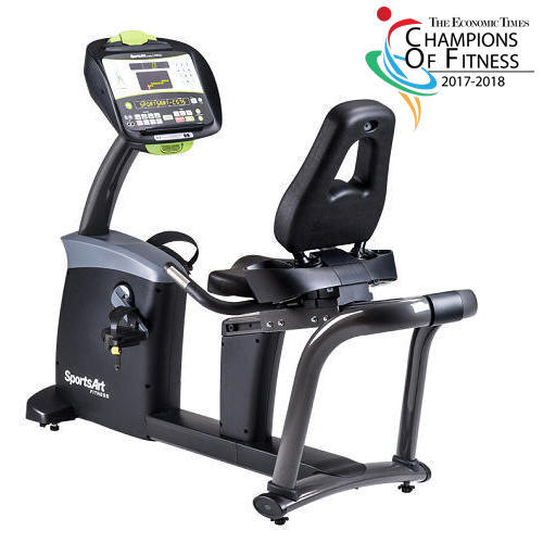 SportsArt Commercial Recumbent Bike/Magnetic Exercise Bike