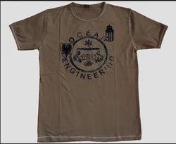 Brown Men T Shirt