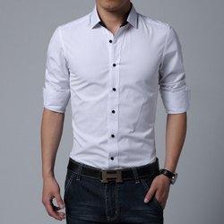 Svaraati White Svaraarti Men's Shirt, Waist Size: 34, Size: Medium