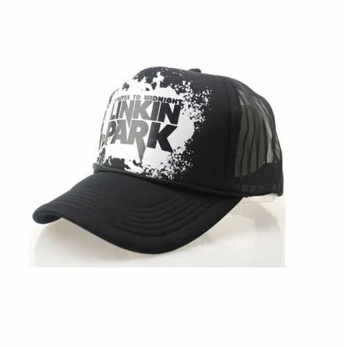 Black Linkin Park Cap Half Net Cap 4e558da5229