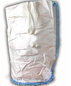 Resealable White Bopp Laminated Packaging Bags, Capacity: 50 Kg, Thickness: 0.5 Mm