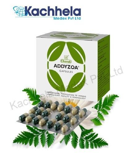 Ayurdevic Addyzoa 20 Capsules, for Commerical, Packaging Type: Strips