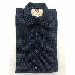 Cotton Mens Collar Neck Shirt