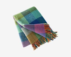 Colorful Scandinavian Design Throw Blanket