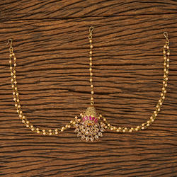 Antique Chand Damini with gold plating 20112