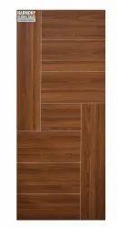 Sliding Hinged Wooden Laminate Door