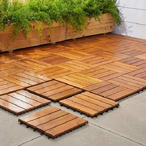 Wooden Outdoor Waterproof Deck Flooring