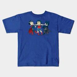 Men Blue Kids Half Sleeves T Shirt, Size: 32