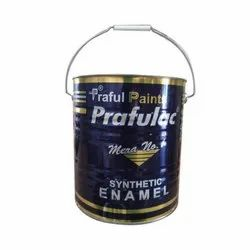High Gloss Oil Based Paint Prafulac Industrial Black Paint, Packaging Type: Tin, Liquid