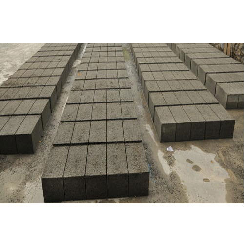 Rectangular Cement Solid Block, Size (Inches): 8 X 8 X 16