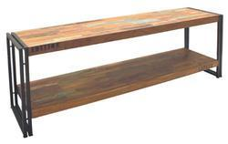Industrial Vintage TV Unit of Reclaimed Wood