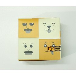 Face Snack Designer Cake Box
