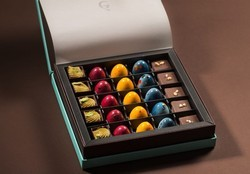 Square Assorted Centre filled chocolates