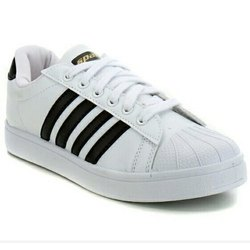 Casual Wear Plain Mens White Sparx Casual Shoes, Size: 6-10 (UK)