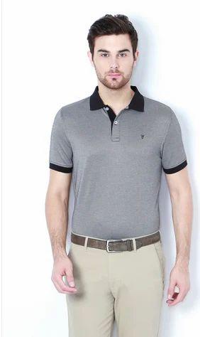 0b283da29 Boys Cotton Van Heusen Black T Shirt, Size: Medium, Rs 1699 /piece ...