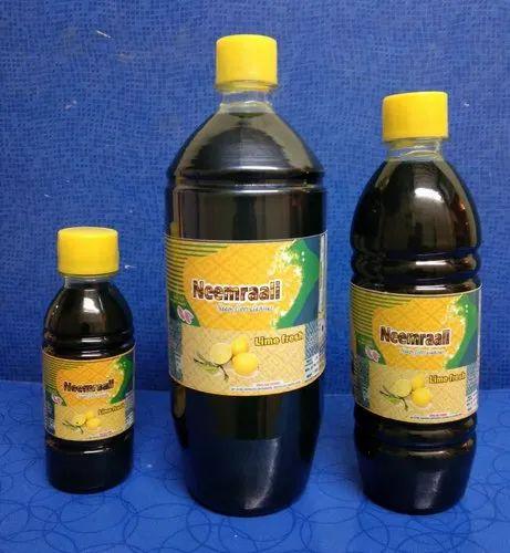 Dark Green Liquid Neemraali ' '  Fresh Lime' '  Pet Bottles for Floor Cleaning, Packaging Type: Bottle
