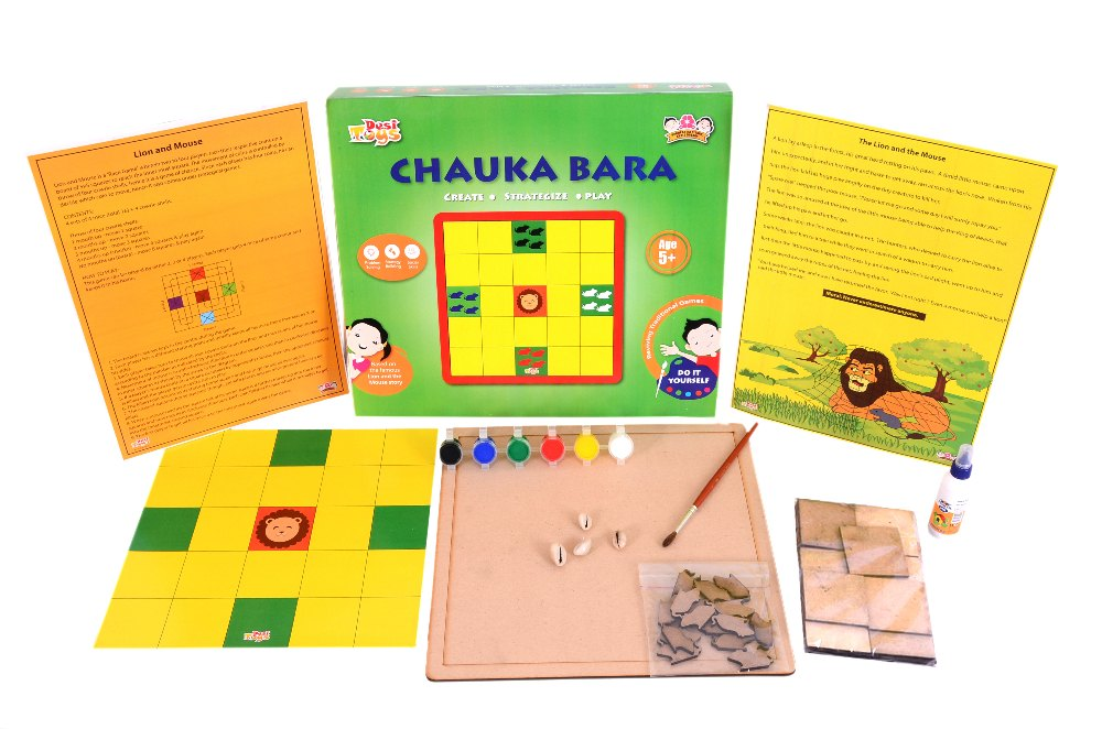 Desi Toys DIY 'Chuaka Bara' with 'Lion and the Mouse' Story theme