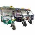 Powder Coating E Rickshaw