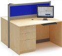 Laminated Modular Office Workstation
