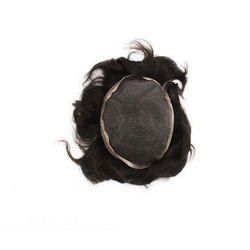 Ultra Thin Top Lace Human Hair Skin Toupee Or Hair Patch