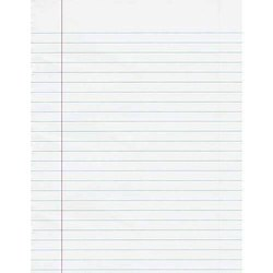 Ruled Notebook Paper