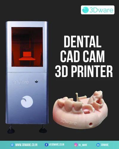 Automatic Polymer Dental Cad Cam Machine 3d Printer For