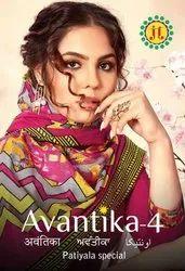 JT Avantika Vol-4 Printed Cotton Dress Material Catalog Collection