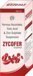 Ferrous Ascorbate , Folic Acid Syrup