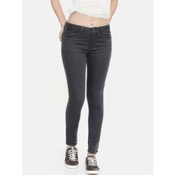 Slim Ladies Black Denim Jeans, Waist Size: 28 to 36