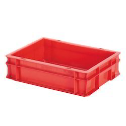 Plastic Rectangular Crates