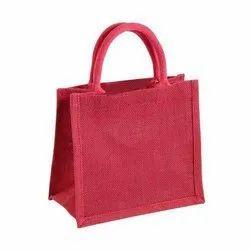 Plain Jute Gift Bags, For Shopping, Size: 25x25x15 Cm