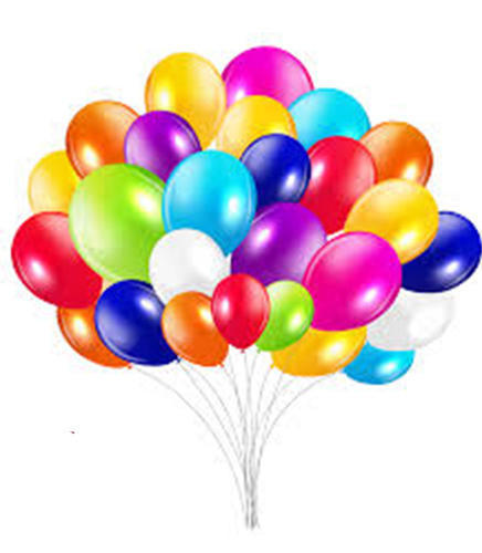 50 Pcs Multicolor Balloon Big Size Pack of