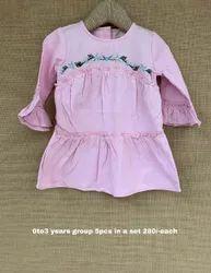 Mini Elegance Hosiery Girls Tops, 0-3 Years