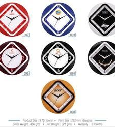 Triangular Wall Clock