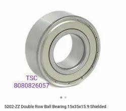 Double Row Ball Bearing 5202ZZ
