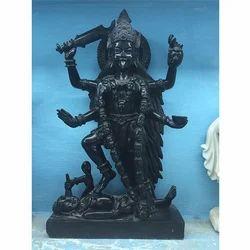 Black Marble Mahakali Statue