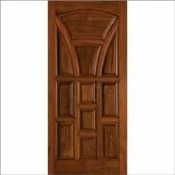 Teak wood Polished Teak Wooden Panel Door