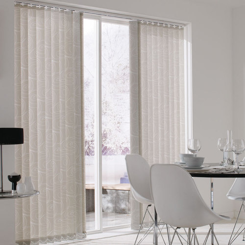 PVC White Vertical Blinds