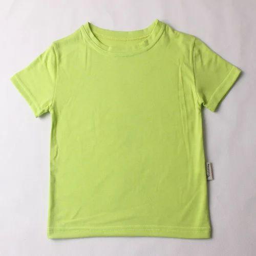 b08ce1a4b Light Green Boys Plain T Shirt, Rs 150 /piece, Ahirwar Industries ...