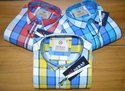 Collar Neck Casual Wear Mens Fancy Cotton Check Shirts