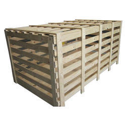 Industrial Wooden Packaging Crates