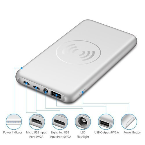 Power Bank Charger >> Wireless Charger Power Bank 10000mah At Rs 849 Piece Portable
