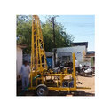 Jay Ambe Industries Borewell Tractor Mobile Drilling Machine