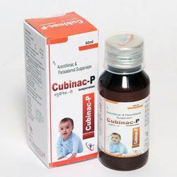 Aceclofenac 50mg Paracetamol 125 mg Syrup with Monocarton