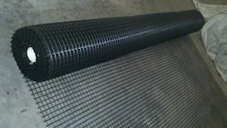 Polyester Geogrids Black Fabric