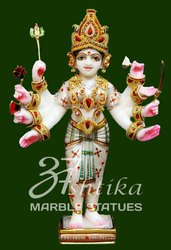 Marble hinglaj Maa Statue