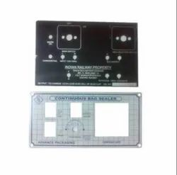 Anograph Control Panel Plates