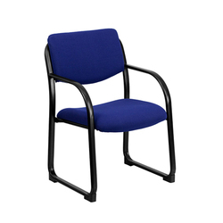 Blue Visitors Chair