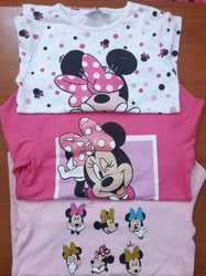 Minnie Mouse Girls Tops