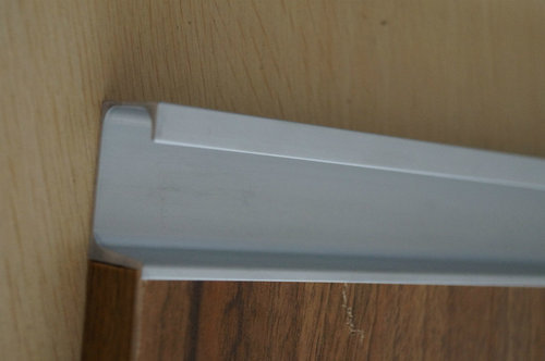 Kitchen Aluminium Profile Shutter Aluminium G Profile